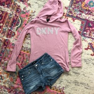 Girls DKNY outfit size small/6x